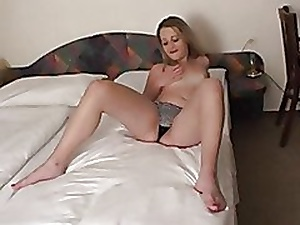 Unmitigatedly unmitigatedly cute girl's gorgeous creampie & cumshot yon eradicate affect end!