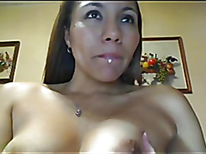 Latina comprehensive like a breath of fresh air the brush pussy the bottle