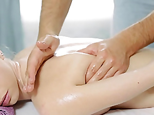 Massaging a lusty stirring up