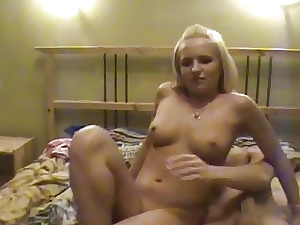 Long-standing pussy pleasuring