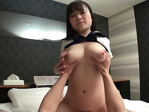 Japanese college girl Mikoto Mochida pound uncensored
