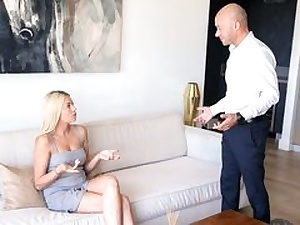 Raw Baby sitter Taught Some Manners