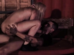 Restrain bondage water in bootie and french amateur 3 way outdoor
