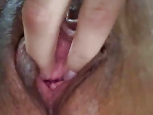 Compilation 2 girls - 2nd woman close up pussy fingerblasting