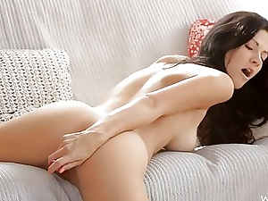 Beauty thither convention is masturbating in the lead camera